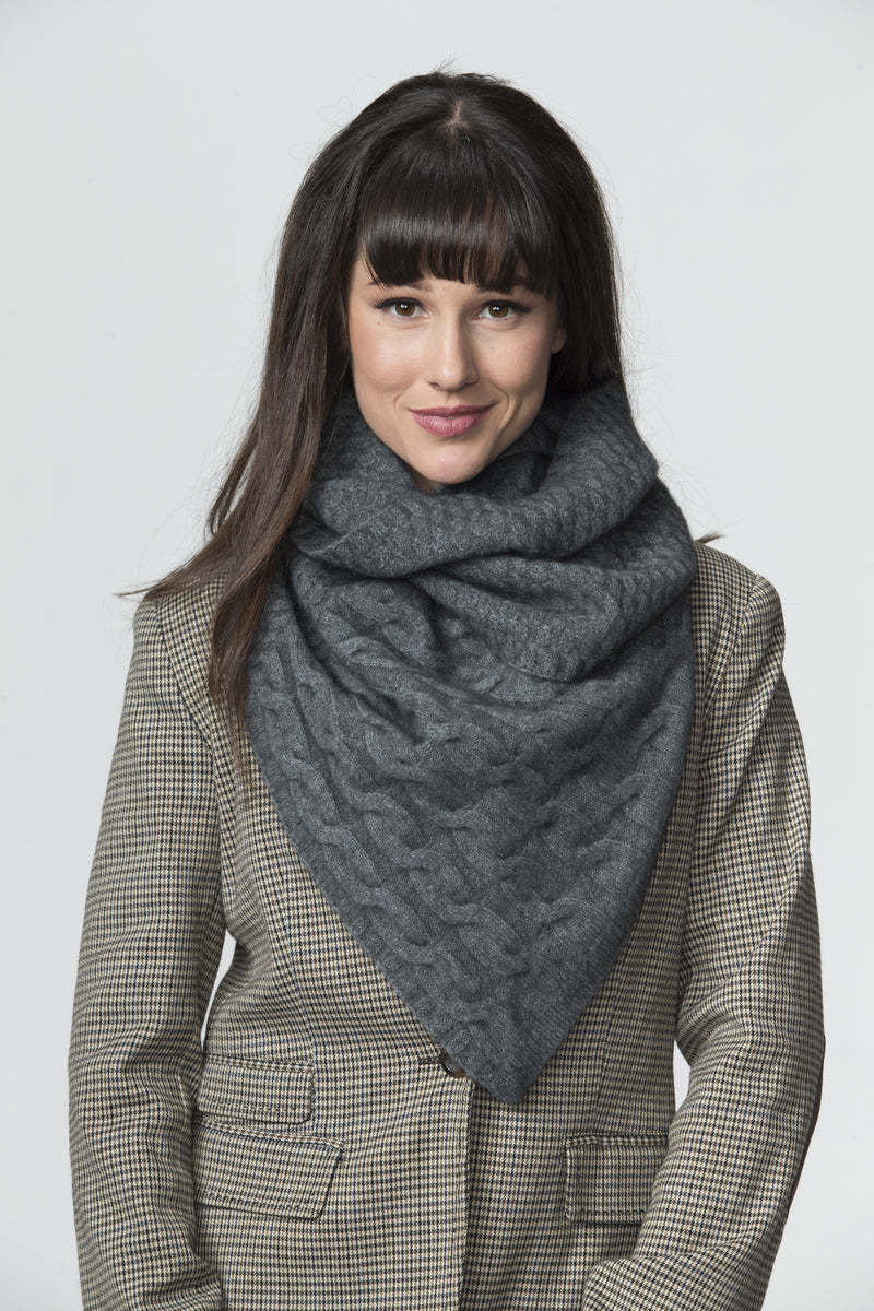 Cable Twist Scarf