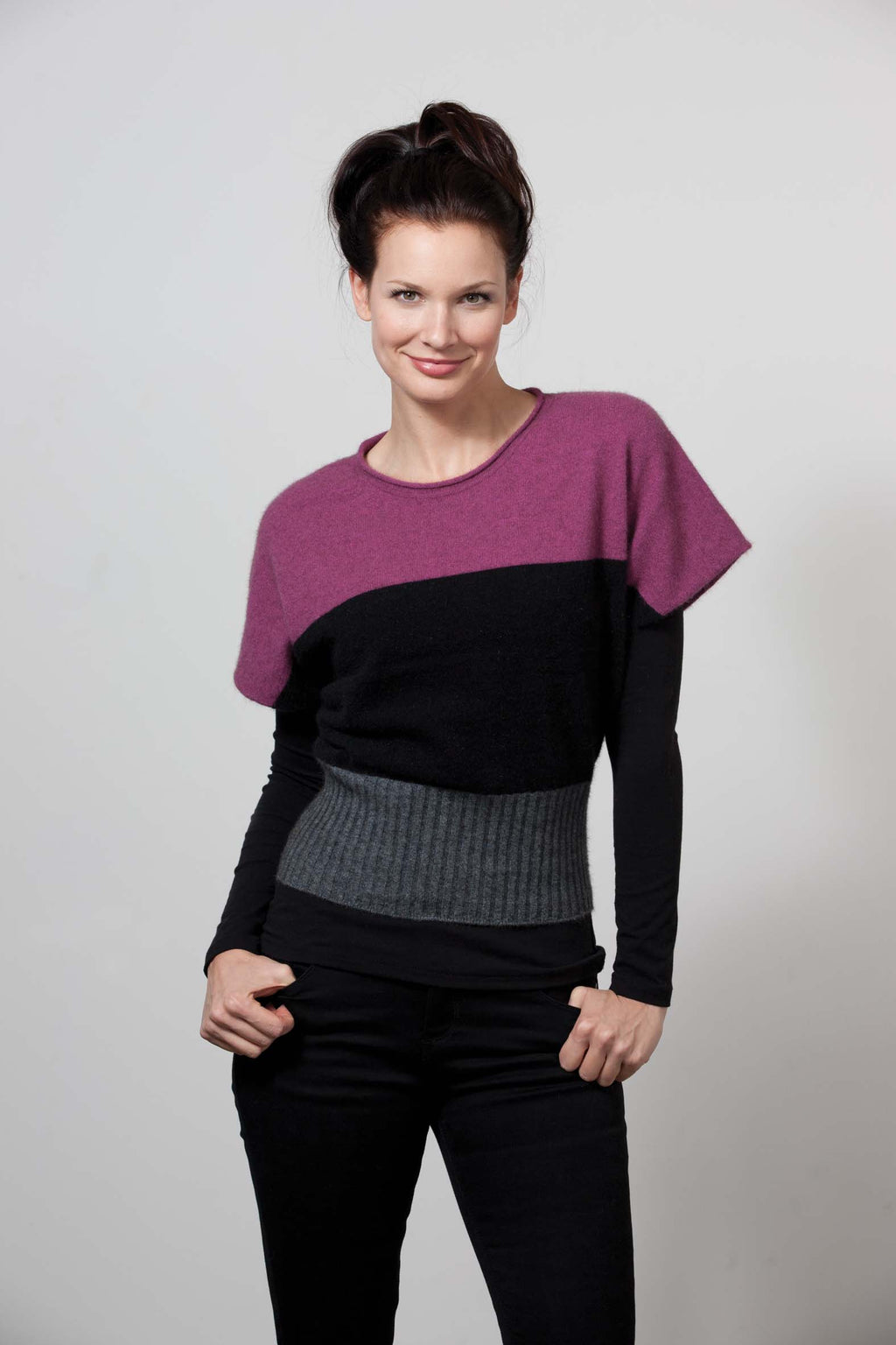 Batty Tri-Stripe Jumper
