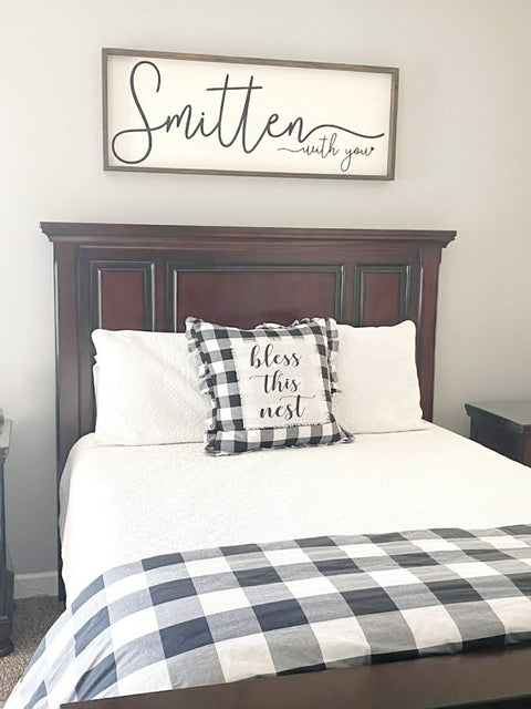 Farmhouse style bedroom sign