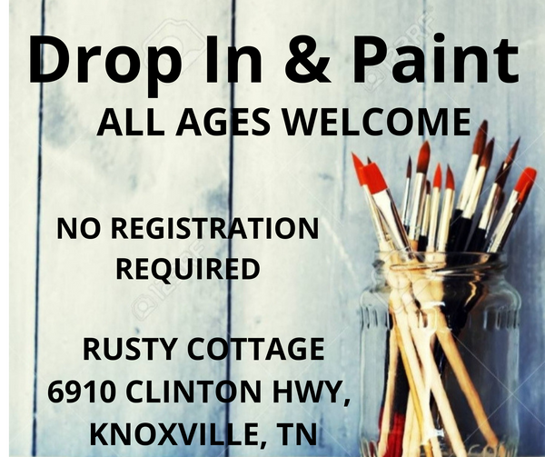06/22/19, DROP IN & PAINT, Saturday, 10:00am-2:00pm