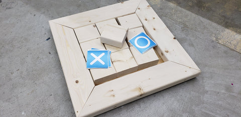 Kit Tic Tac Toe Board