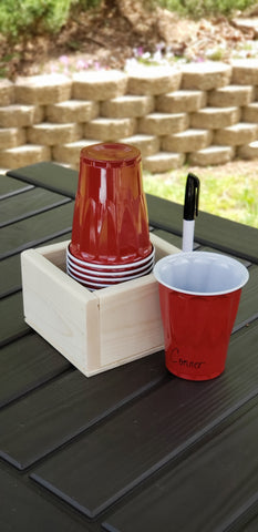 Cup Holder and Marker