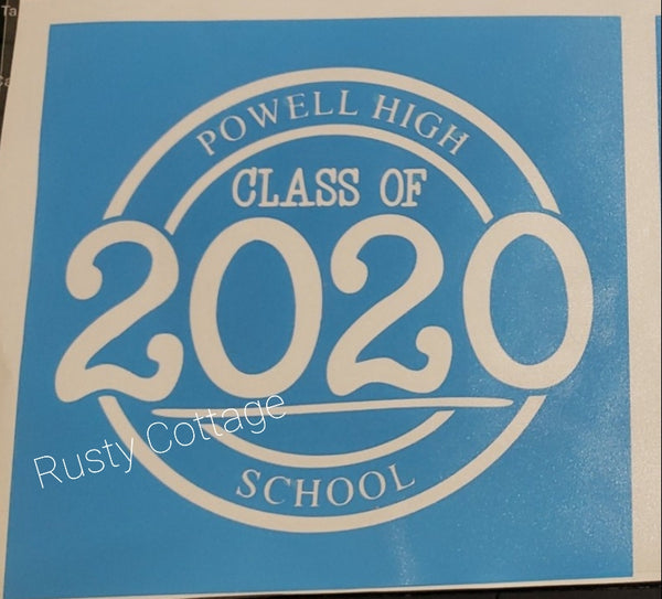 Graduating Senior Photo Hanger Kits and Completed Signs