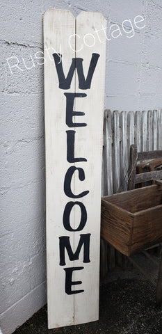 Kit Welcome Porch Sign