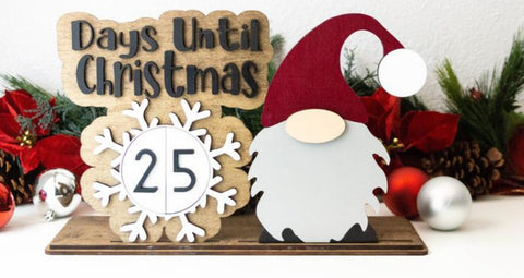 3D Gnome advent calendar