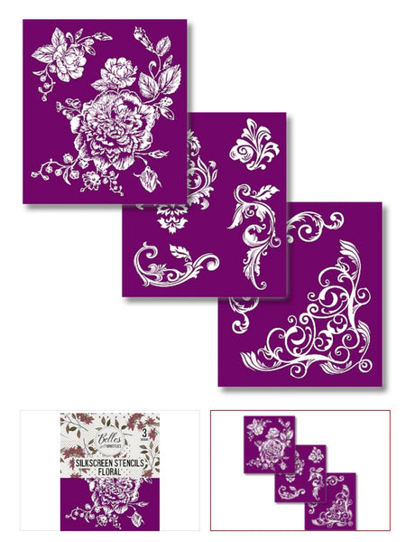 Belles and Whistles Silk Screen Stencils
