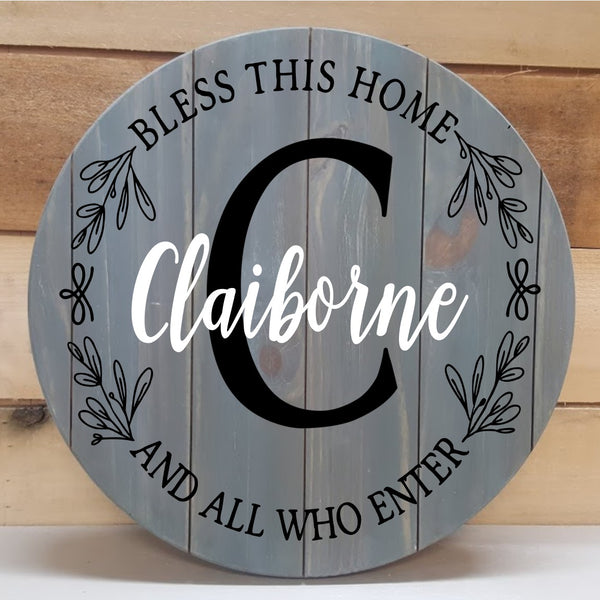 Round Tray, Sign or Lazy Susan