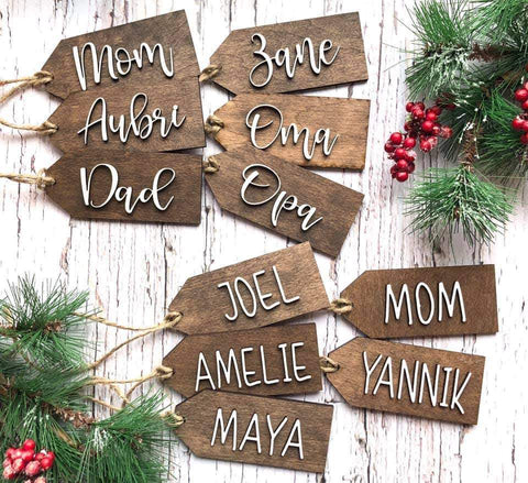 Personalized Tag Ornament