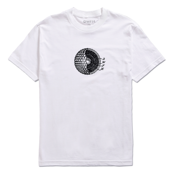 DEATHWORLD CELLULAR S/S TEE WHITE - By Earl Sweatshirt