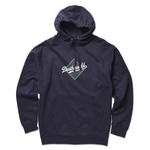 DEATHWORLD DEATHDODGERS HOODED FLEECE - NAVY
