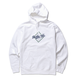 DEATHWORLD DEATHDODGERS HOODED FLEECE - WHITE