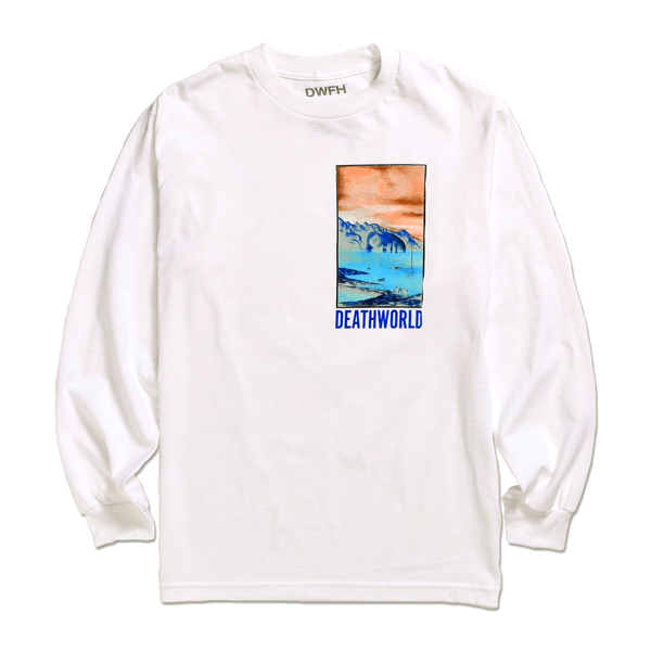 DEATHWORLD DORMANT L/S TEE by Earl Sweatshirt's clothing brand Deathworld Feral Hands.