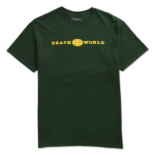 DEATHWORLD GLOBAL S/S TEE FOREST - By Earl Sweatshirt