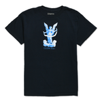 DEATHWORLD GUARDIAN ANGEL S/S TEE by rapper Earl Sweatshirt's clothing brand Deathworld Feral Hands.