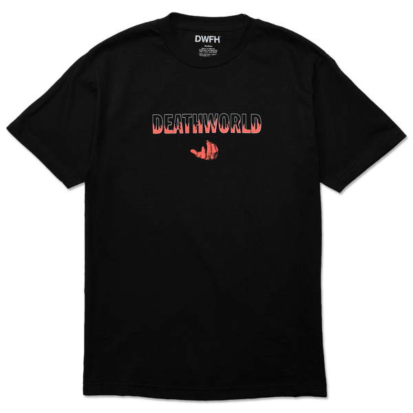 DEATHWORLD HEAT S/S TEE.  100% COTTON T-SHIRT