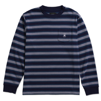 DEATHWORLD PARIS STRIPE L/S PKT TEE - By Earl Sweatshirt