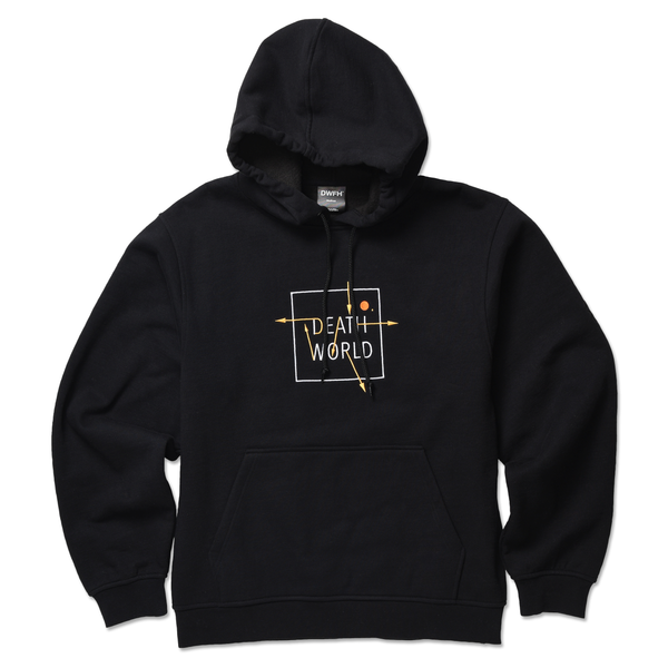 DEATHWORLD PLANETARY HOODED FLEECE