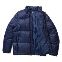 DEATHWORLD PUFFER JACKET - BACK