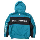 DEATHWORLD ROMULUS WINDBREAKER - BACK - HOOD