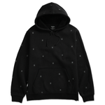DEATHWORLD ALL OVER SPIDER HOODED FLEECE