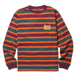 DEATHWORLD STRIPE L/S PKT TEE - EARL SWEATSHIRT'S DEATHWORLD RELEASES NEW SPRING '19 CAPSULE COLLECTION