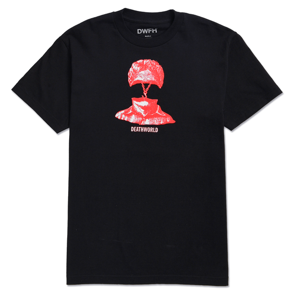 DEATHWORLD WEAK LINK S/S TEE by Earl Sweatshirt's clothing brand Deathworld Feral Hands.