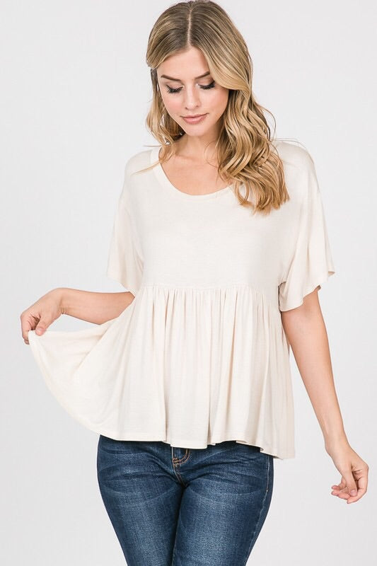 The Julieann Babydoll Top