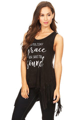 """Amazing Grace"" Graphic Tunic"