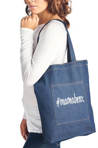 #mamabear Denim Shopper