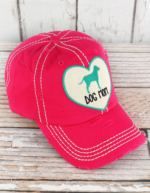 """Dog Mom"" Graphic Hat"