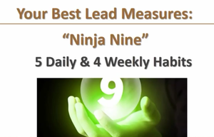 Your best lead measures: