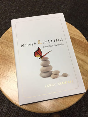 Ninja Selling book by Larry Kendall