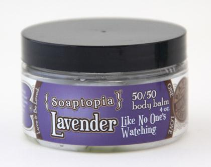 50/50 Body Balm - Lavender LikeNoOne's Watching