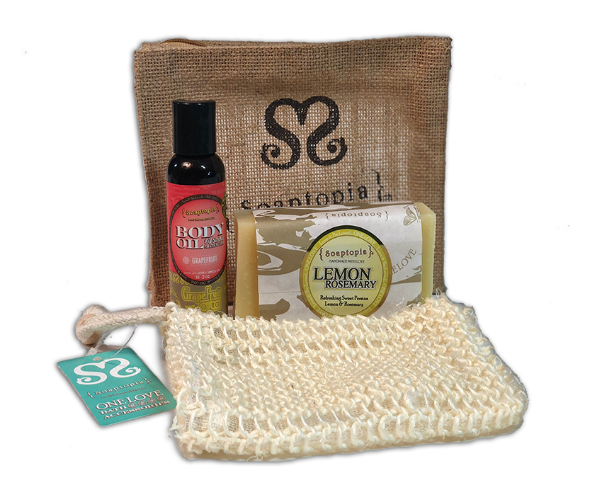 HOLIDAY GIFT PACK: SOAP & OIL