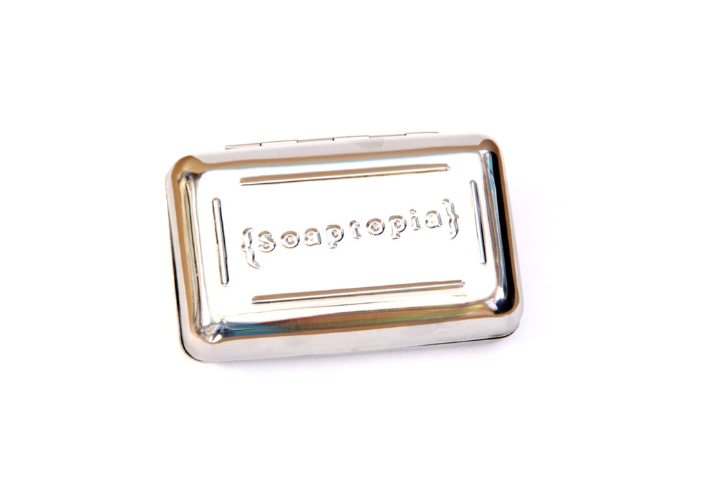 STAINLESS STEEL SOAP TIN