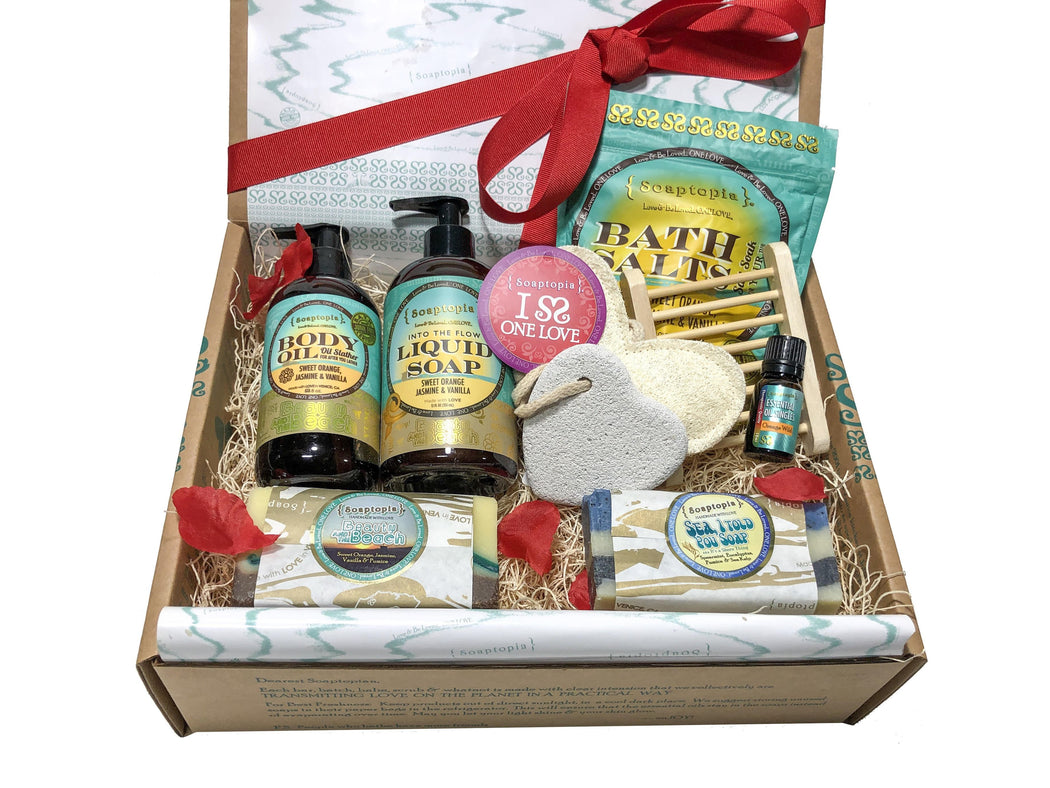 Beauty & the Beach Valentine Gift Set