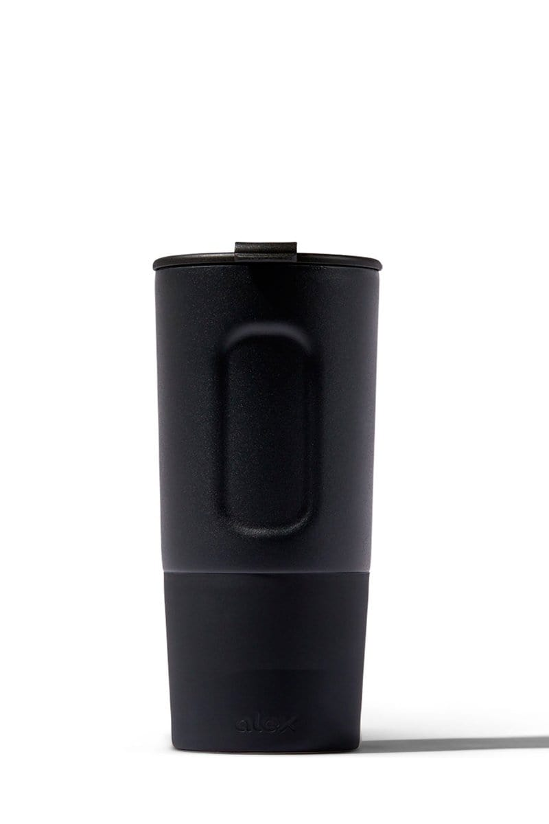 16oz Insulated Traveler (Hot/Cold) in Black