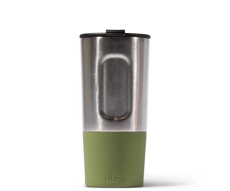 16oz Insulated Traveler (Hot/Cold) in Stainless