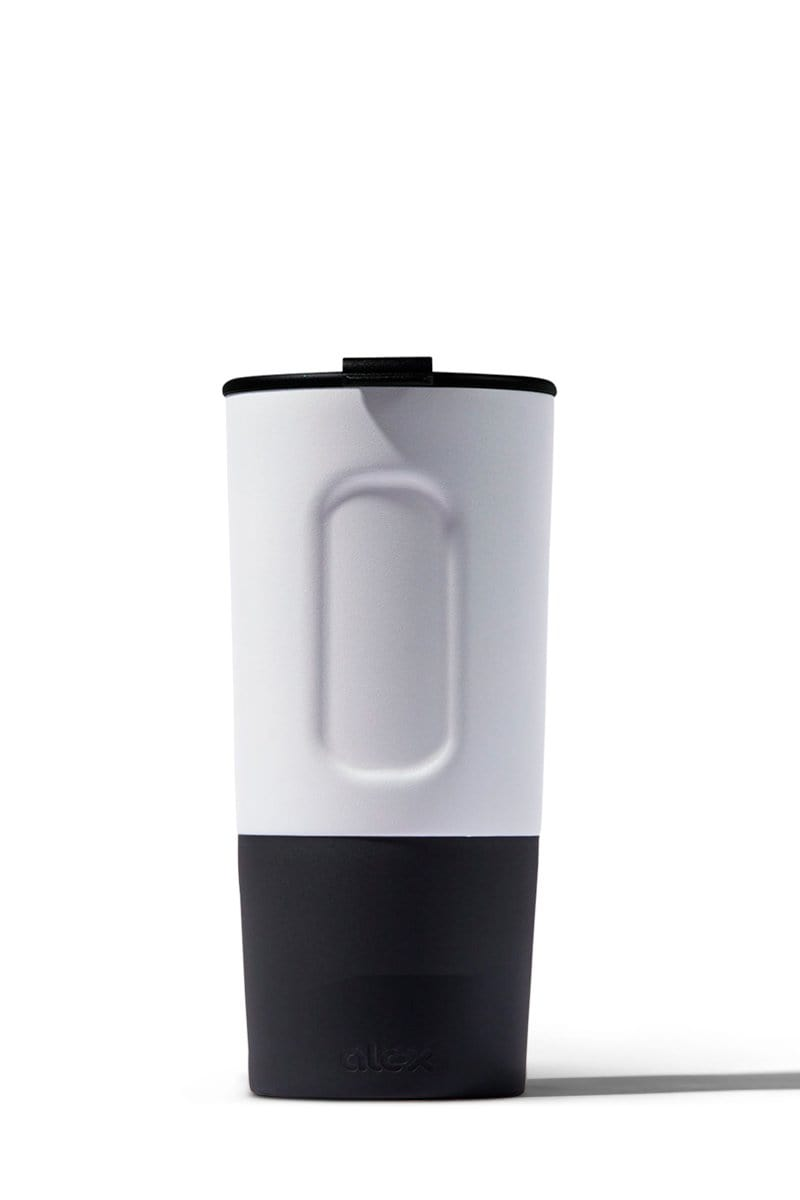 16oz Insulated Traveler (Hot/Cold) in White