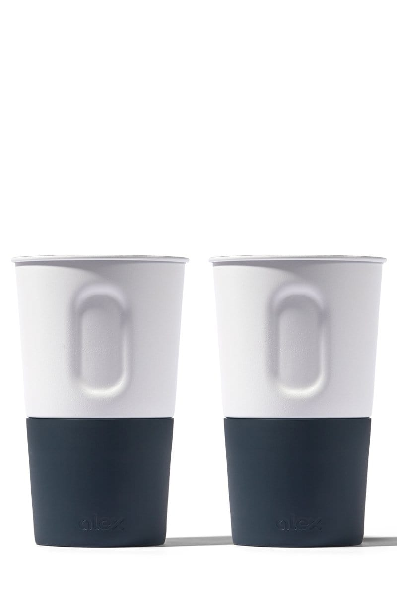 16oz Bottle Opener Cup - 2 Pack - (non-insulated / no lid)