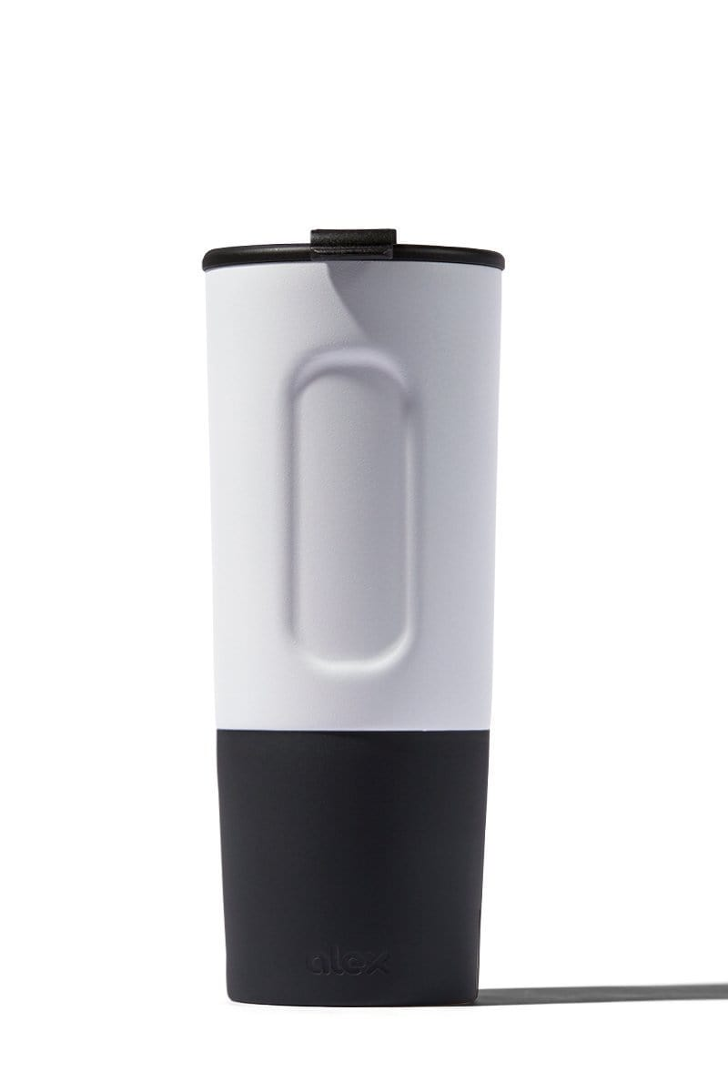 Insulated - 20oz Insulated Traveler (Hot/Cold) In White
