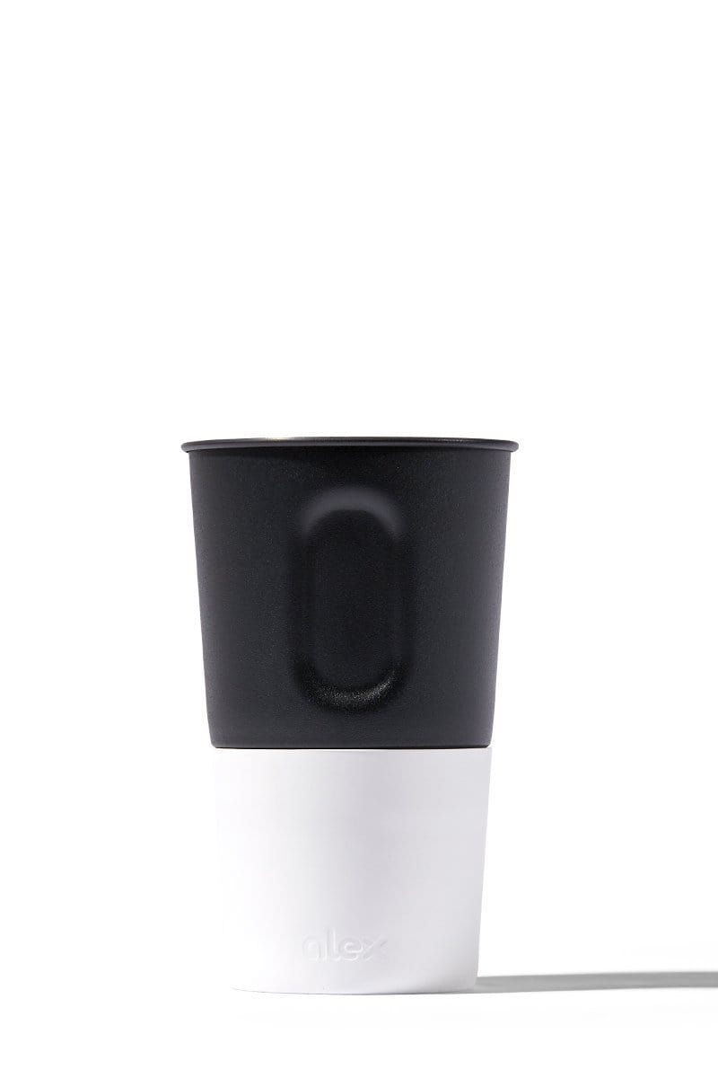 Pint Cup - 16oz Bottle Opener Cup In Black