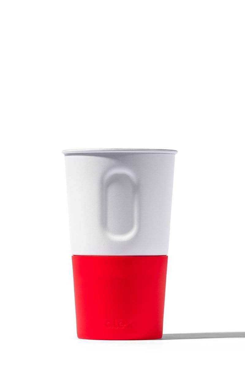 Pint Cup - 16oz Bottle Opener Cup In White