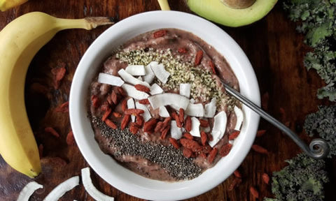 Share your smoothie bowl to win a subscription to Goji, Maca and cacao