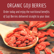 Load image into Gallery viewer, Organic Goji Berries Premium