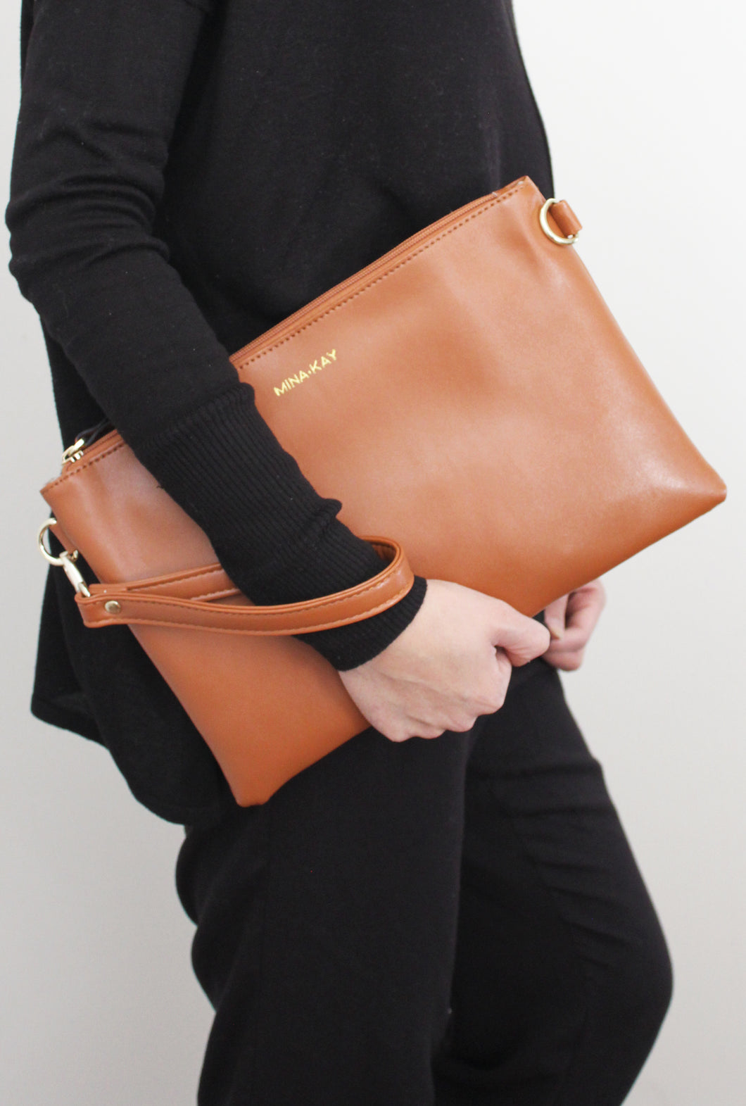 Large Clutch - Camel