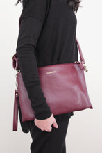 Large Clutch - Maroon
