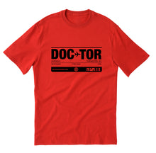 DOCTOR unisex short sleeve t-shirt