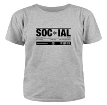 SOCIAL unisex short sleeve t-shirt
