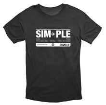 SIMPLE unisex short sleeve t-shirt